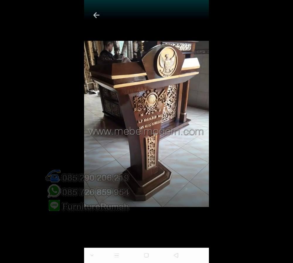 Best Seller Mimbar Masjid Sederhana MM PM 608