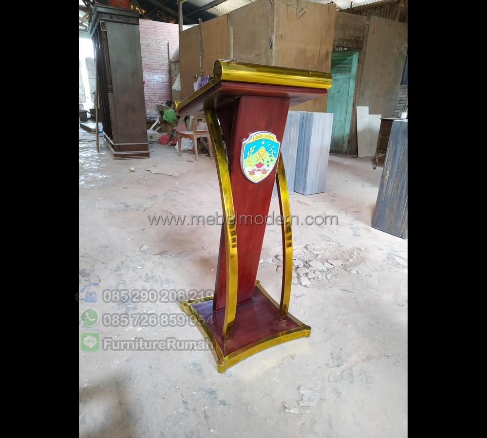 Furniture Jepara Harga Mimbar Kayu Jati MM PM 238
