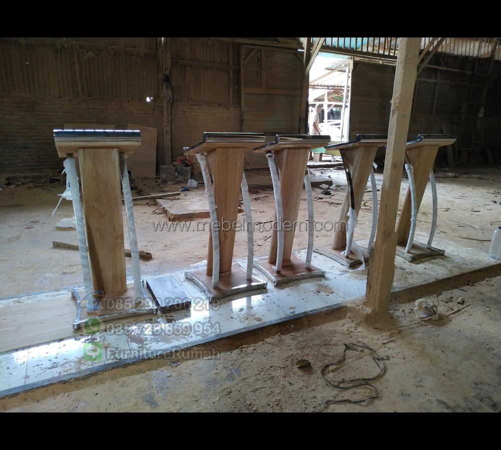 Furniture Jepara Harga Mimbar Masjid Murah MM PM 338