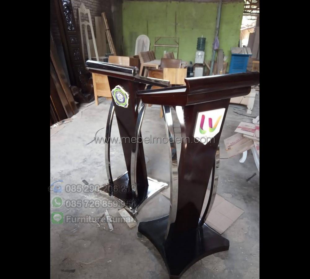 Furniture Minimalis Mimbar Pidato MM PM 536