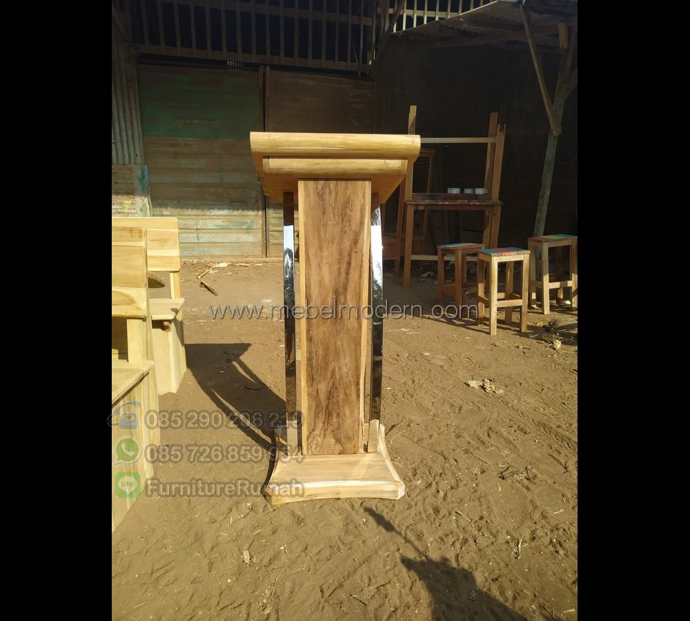 Furniture Minimalis Podium Pidato MM PM 186
