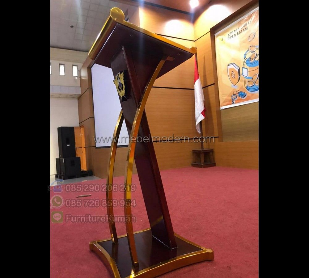 Furniture Modern Ukuran Podium Pidato MM PM 619