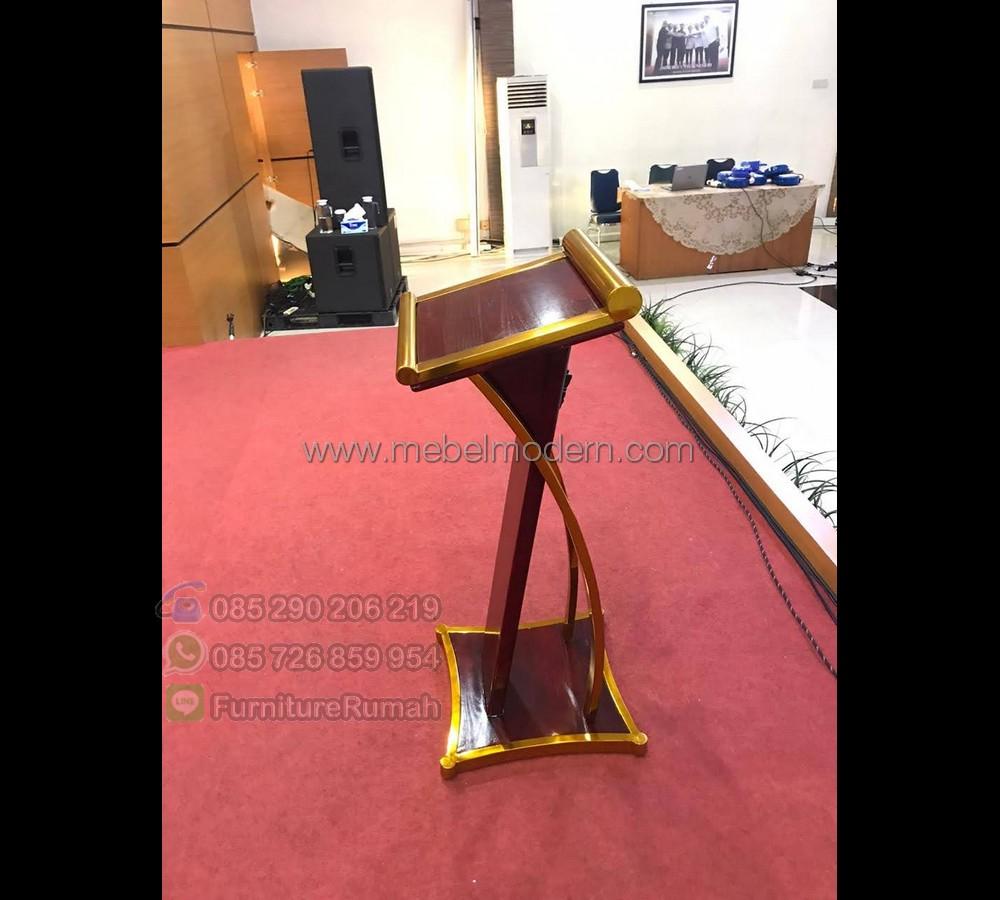 Furniture Stock Meja Mimbar Minimalis MM PM 622