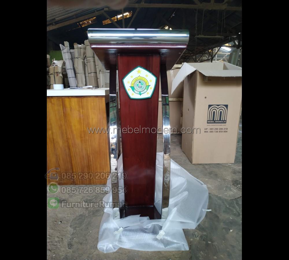 Mebel Jati Harga Mimbar Pidato Minimalis MM PM 441