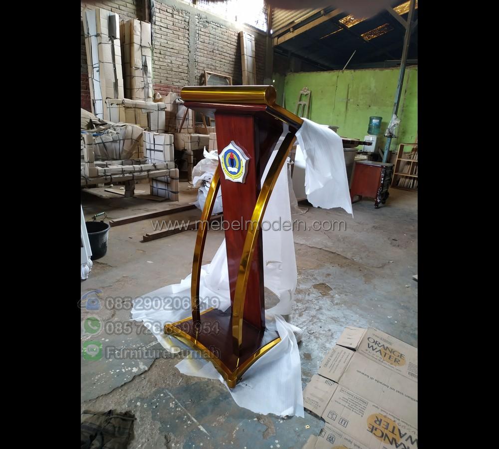 Promo Kami Mimbar Masjid Minimalis Modern MM PM 354
