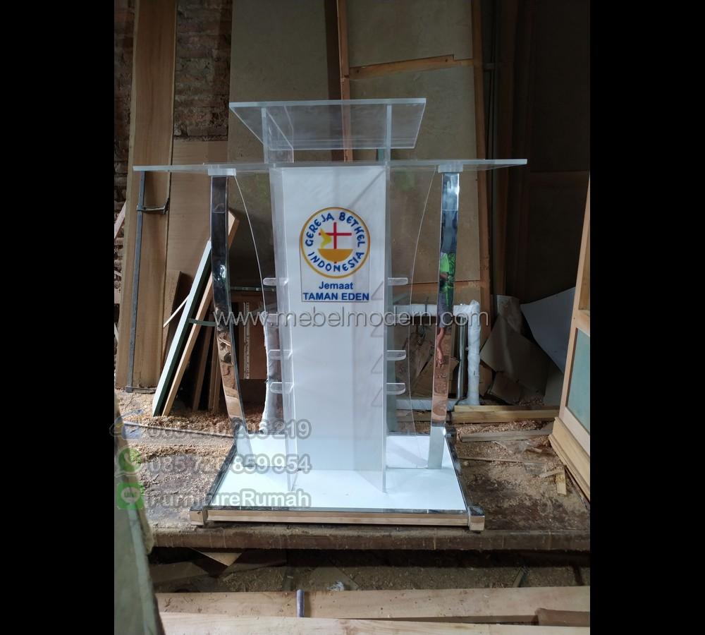 Promo Kami Mimbar Masjid Stainless MM PM 404